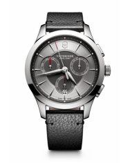 Victorinox Alliance Chronograph grey leather