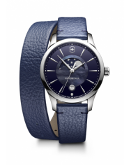 Victorinox Alliance Small blue leather