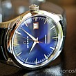 Eterna Legacy Date Blue leather