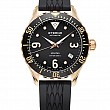 Eterna Lady Kontiki Diver black 7 diamonds rubber