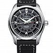 Eterna Kontiki Four-Hands black rubber/leather