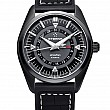 Eterna Kontiki Four-Hands black rubber/leather PVD