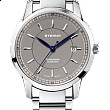 Eterna Tangaroa Three-Hands grey steel
