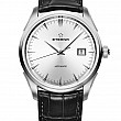 Eterna Legacy Date Silver leather