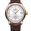 Eterna Adventic Date silver leather gold