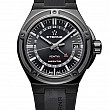 Eterna Royal Kontiki GMT black rubber PVD