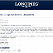 Longines Pioneers Collection BAZAR 420140005