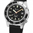 Squale 50 Atmos black silver Domed