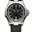 Victorinox Night Vision black leather