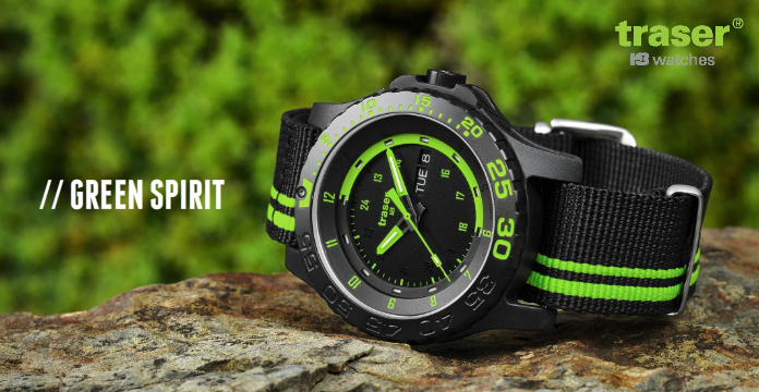 Traser Green Spirit